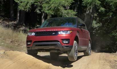 The 2014 Range Rover Sport V8 Superchaged offers excellent off-road control