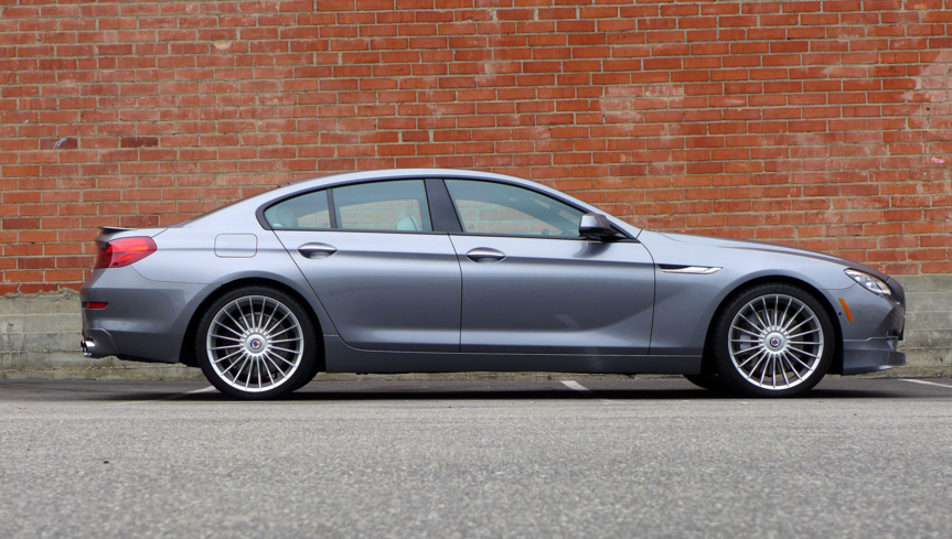 2015 BMW Alpina B6 right side view