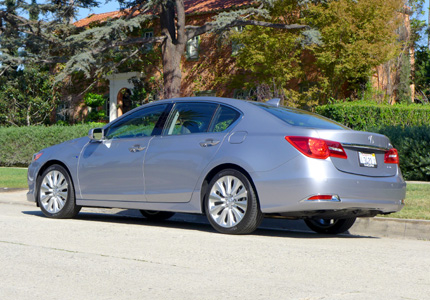2016 Acura RLX Hybrid Sport side view
