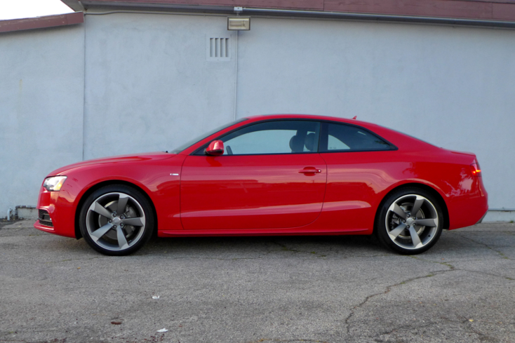 2015 Audi A5 side view