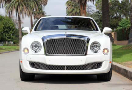 Front view of the 2016 Bentley Mulsanne