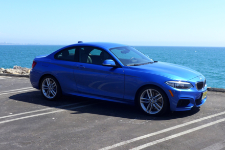 2015 BMW 228i Coupe front view
