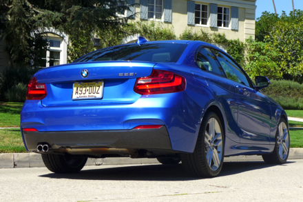 2015 BMW 228i Coupe rear view