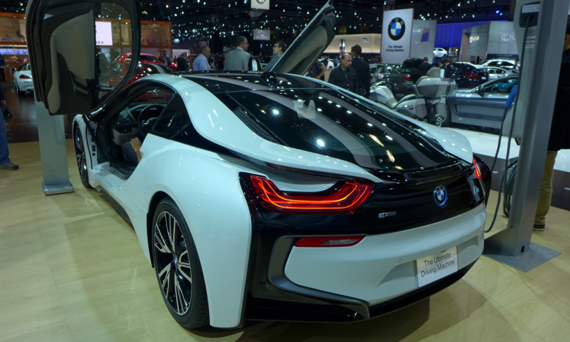 BMW i8 at the LA Auto Show