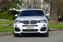 2015 BMW X4 front view