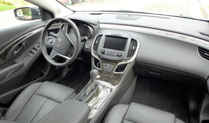 The interior of the 2014 Buick LaCrosse Premium