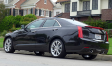 Rear view of a 2013 Cadillac ATS 2.0T Premium Collection