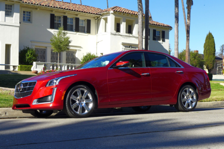 Cadillac CTS Turbo side view