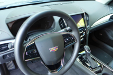 2015 Cadillac ATS Coupe 2.0T dashboard