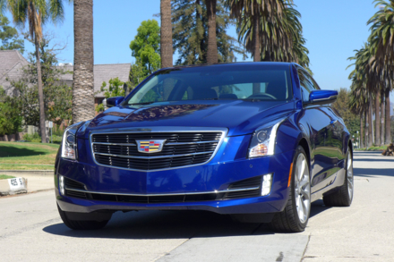 2015 Cadillac ATS Coupe 2.0T front view
