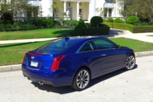 2015 Cadillac ATS 2.0T rear view