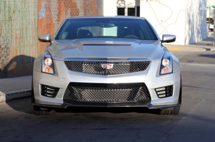 Front view of the 2016 Cadillac ATS-V Coupe RWD Manual