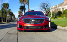 Front view of the 2016 Cadillac CTS-V Sedan RWD