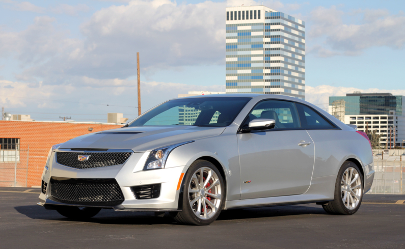 2016 Cadillac ATS-V Coupe RWD Manual