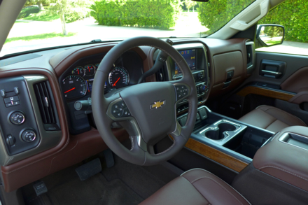 Silverado High Country dashboard