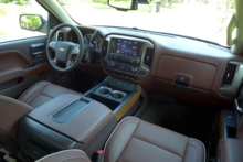 Silverado High Country Interior