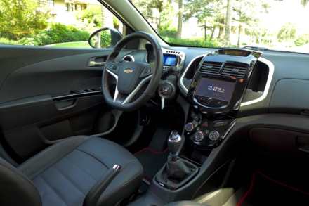 Chevrolet Sonic RS interior