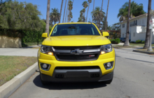 Chevrolet Colorado Front View