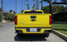 Chevrolet Colorado rear view