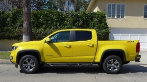 Chevrolet Colorado side View