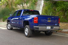 2015 Chevrolet Silverado 2500HD rear view