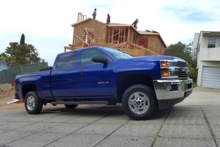 2015 Chevrolet Silverado 2500HD side view