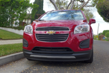 2015 Chevrolet Trax front