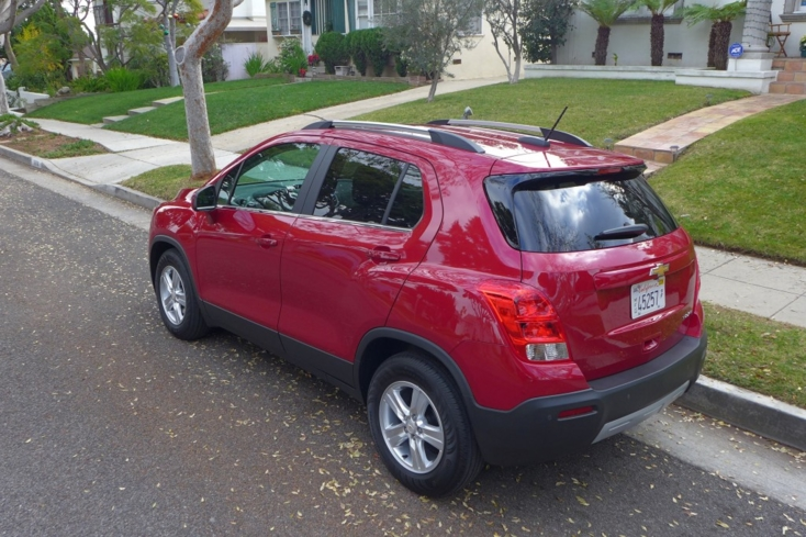 2015 Chevrolet Trax LT FWD rear view