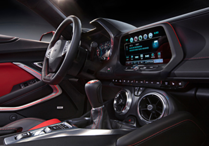 2016 Chevrolet Camaro 2LT Coupe interior