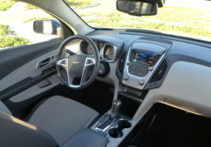 2016 Chevrolet Equinox FWD LT dashboard