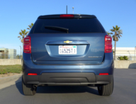 2016 Chevrolet Equinox FWD LT rear view