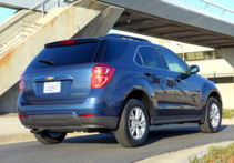 2016 Chevrolet Equinox FWD LT side view