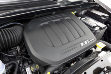 2014 Chrysler Town & Country engine