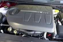 2015 Chrysler 200C engine