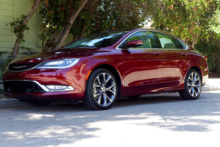 2015 Chrysler 200C side view