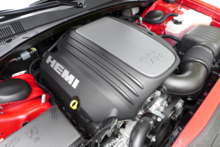 The 5.7L V8 Hemi Engine of the 2015 Chrysler 300S