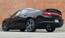 2013 Dodge Charger R/T AWD back view