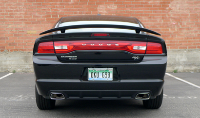 2013 Dodge Charger R/T AWD rear view