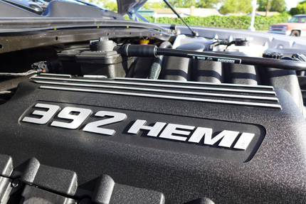 2014 Dodge Challenger SRT engine