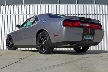 2014 Dodge Challenger SRT rear view