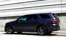 2014 Dodge Durango R/T RWD back view