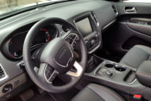 2014 Dodge Durango R/T RWD steering wheel