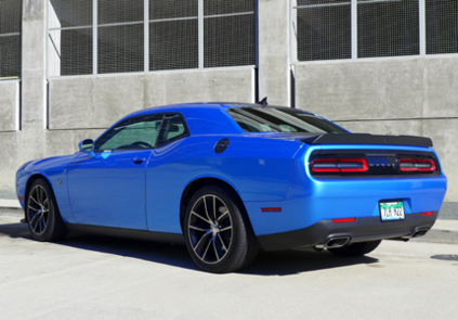 2015 Dodge Challenger Scat Pack Shaker back view