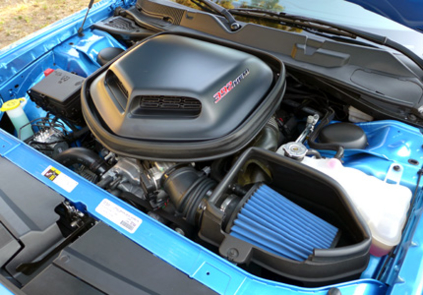 2015 Dodge Challenger Scat Pack Shaker engine
