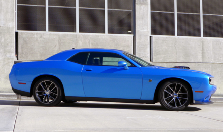 2015 Dodge Challenger Scat Pack Shaker side view