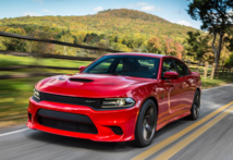 2015 Dodge Charger SRT Hellcat front view