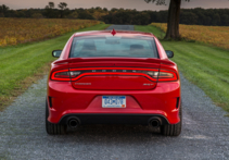 2015 Dodge Charger SRT Hellcat rear view