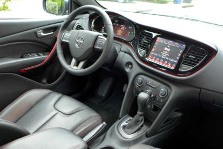 2015 Dodge Dart GT interior view