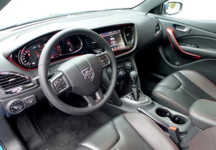 2015 Dodge Dart GT interior
