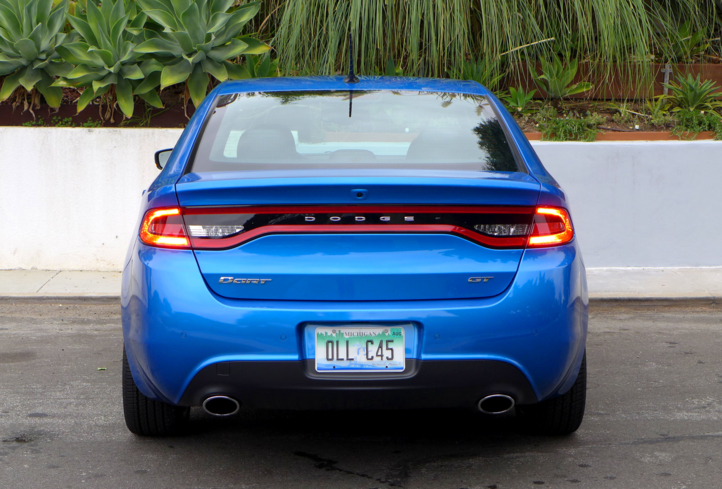 2015 Dodge Dart GT rear view
